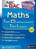 ABC du BAC Réussite Maths Term ES.L