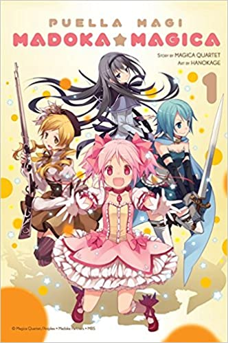 Image result for puella magi madoka magica volume 1 amazon