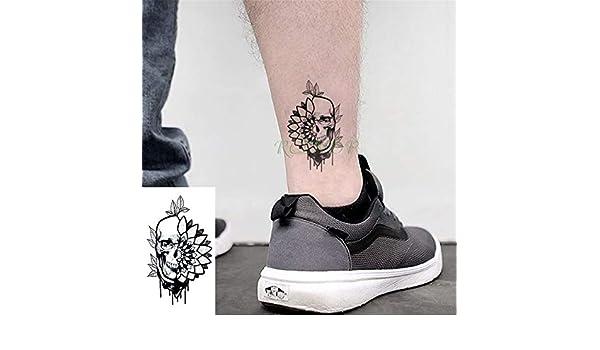 tzxdbh 5 Piezas Impermeables Tatuajes temporales de Tatuajes ...