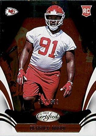 newest a8382 c50c2 Amazon.com: Football NFL 2018 Panini Certified #172 Derrick ...