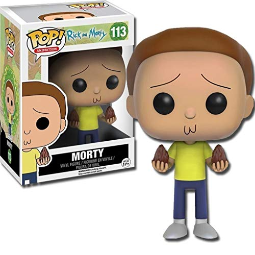 Funko - POP! Vinilo Coleccion Rick & Morty - Figura Morty (9016)