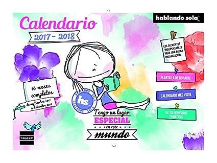 Finocam Hablando Sola - Calendario, castellano, 308 x 225 mm