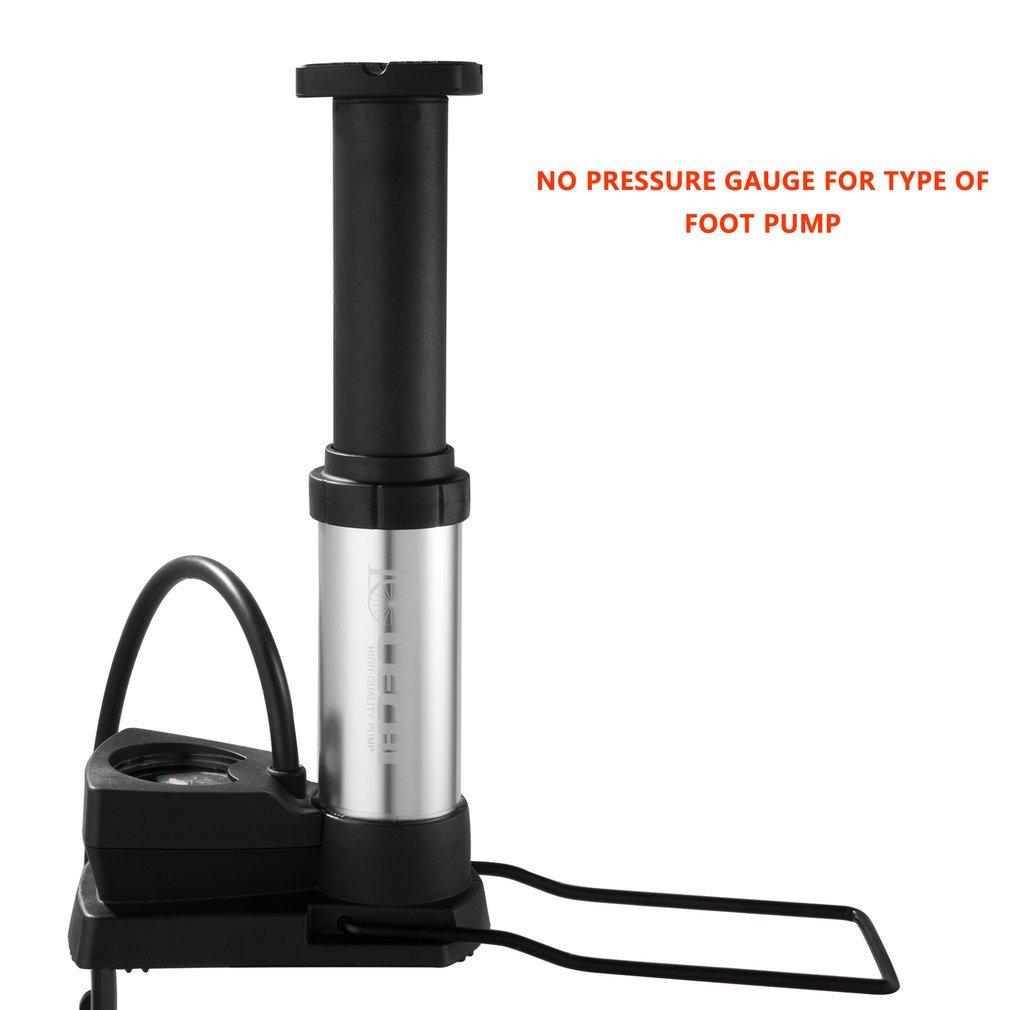 Bombas Para Bicicletas Con 160 Psi Barometer Pressure Bombas de Pie High Pressure Portátil Telescópico Schrader y Presta Válvula Track Pump: Amazon.es: ...