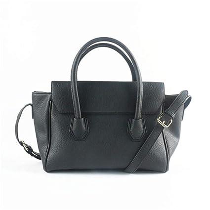 4912230b0bda Amazon.com  Top-Handle Bags Tote Bags Crossbody Shoulder Bag Black ...