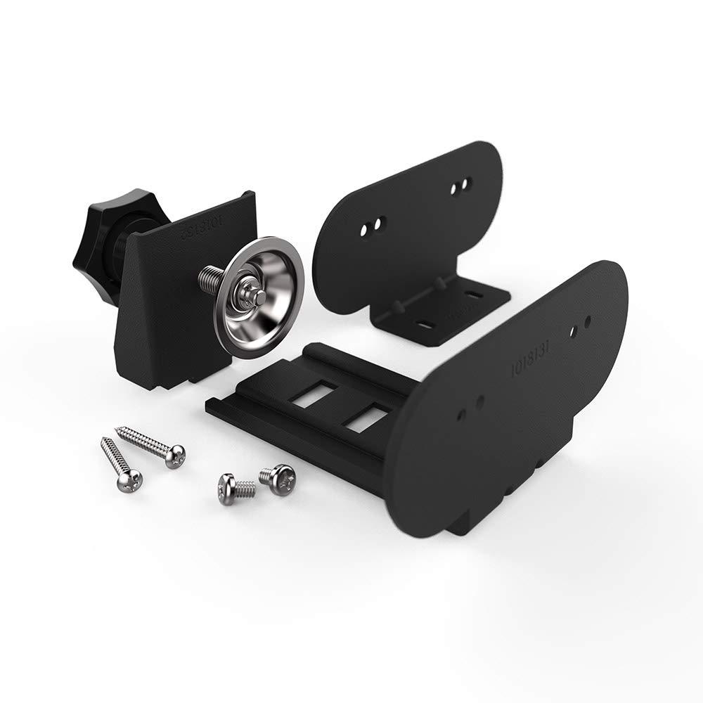 Legrand - Wiremold WSPCBKTBK Desktop Power Center Slim Mounting Accessory Kit, Black