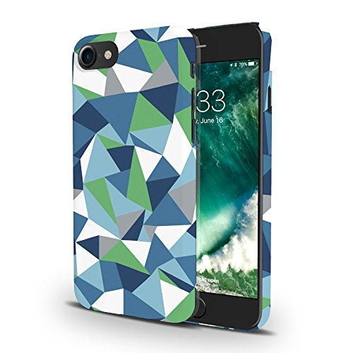 Koveru Back Cover Case for Apple iPhone 7 - Blue green Abstraction