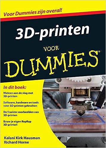Amazon.com: 3D-printen voor Dummies (9789045350486): Kalani ...