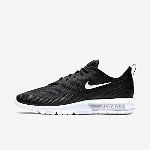 Nike Herren Air Max Sequent 4.5 Traillaufschuhe, BiancoNero