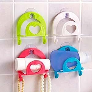 Shalleen Cute Sponge Holder Suction Cup Convenient Home Kitchen Holder Tools Gadget Decor