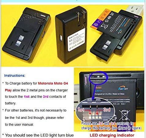 Universal External Multi Function Dock Home GK40 Battery Charger SIM Pin fit Motorola Moto G4 Play XT1607 Cellphone