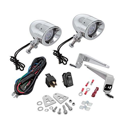 Show Chrome Accessories 30-102L Mini LED Light Kit - Chrome Mini Show