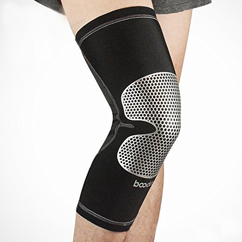 Ezyoutdoor Breathable Lycra Knee Compression Sleeve Support for Running Jogging Sports Joint (Elite Kold Knee Ice Wrap)