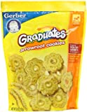 Gerber Graduates Cookies, Arrowroot Cookies, 5.5-Ounce Pouches (Pack of 6)