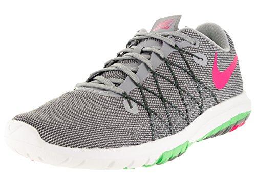 281b7722391f4 Galleon - Nike Womens Flex Fury 2 Wolf Grey Hyper Pink Vltg Grn Drk Running  Shoe 6 Women US