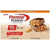 Health & Personal Care : Premier Protein Nutrition Bar, Chocolate Peanut Butter, 30g Protein, 2.53 Ounce Bars (Pack of 6)