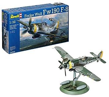 Revell- Wulf Fw190 Maqueta Focke F-8, Kit Modello, Escala 1:32, (04869)