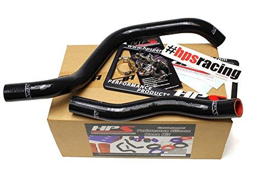 HPS 57-1392-BLK Black Silicone Radiator Coolant Hose Kit