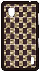 HeartCase Hard Case for Lg Optimus G E975 ( Check Pattern )