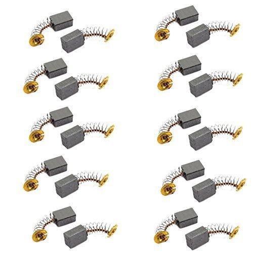 Winkelschleifer Ersatz 12mm x 9mm x 6mm Kohlebürste 10 Paare, Modell:, Haus & Tools