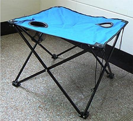 Zll/lienzo al aire libre puesto de mesa plegable mesa portátil de ...