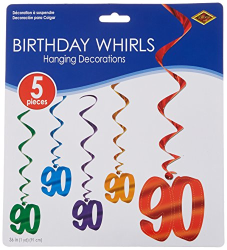 90 Whirls (asstd colors)    (5/Pkg)