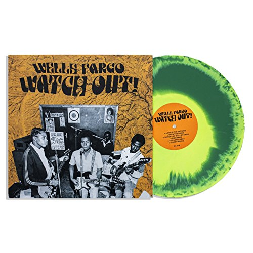 Wells Fargo - Watch Out Limited Club Edition Yellow/Green Tie-Dye Vinyl (Watch Ltd Watches)