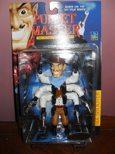 Puppet Master the Action Figure Series Six Shooter Puppet Master Six Shooter