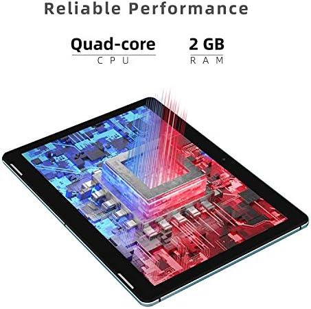 Tablet 10 Inch Android 10.0 – WINNOVO TS10 Quad Core Processor 2GB RAM 32GB ROM HD IPS Display 8MP Rear Camera WiFi GPS FM Google Verified (Blue) 514iD19911L
