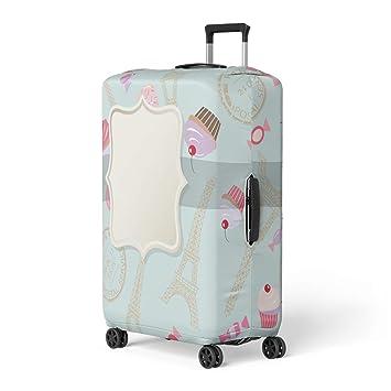 0284bab33741 Amazon.com: Pinbeam Luggage Cover Cute for Girly Birthday Wedding ...