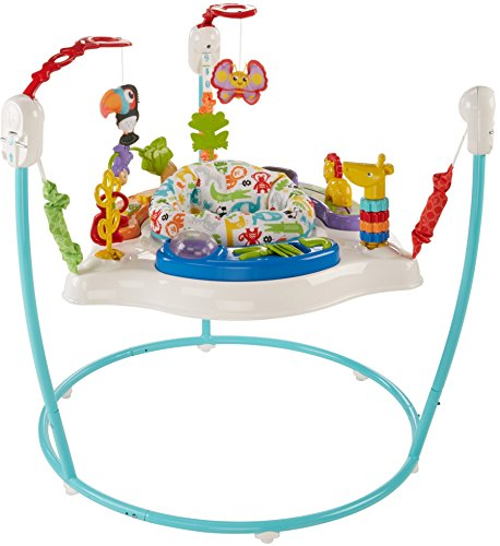 Fisher-Price Animal Activity Jumperoo, Blue by Fisher-Price (Image #2)