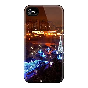 Fashion Protective Christmas Lights In Ukraine Cases Covers For Iphone 6