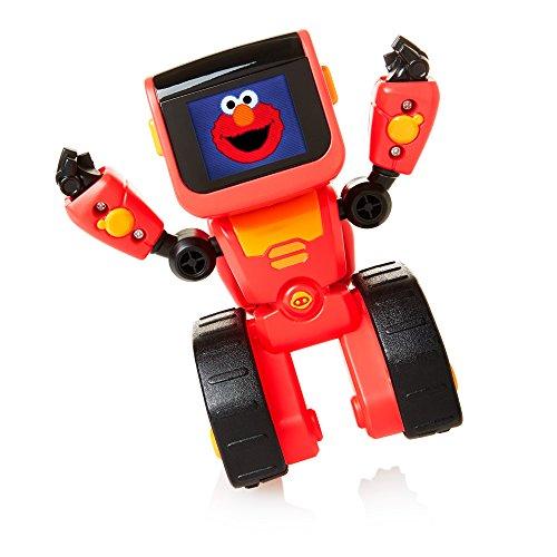 WowWee Elmoji Junior Coding Robot Toy, Red JungleDealsBlog.com