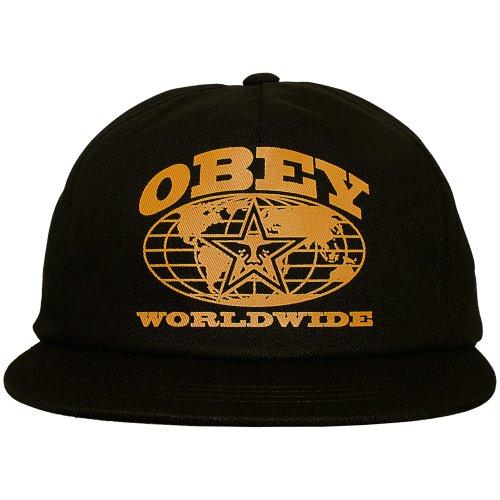 Obey - Gorra de béisbol - para hombre Negro negro talla única regulable