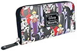 Disney Villains Zip Around Wallet Standard