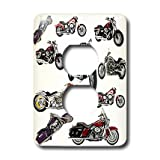 3dRose LLC lsp_5730_6 Light Switch Cover Picturing Harley-Davidson174; Motorcycles