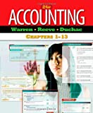 Accounting, Chapters 1-13, Warren and Warren, Carl, 0538478969