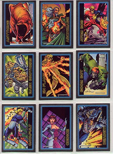 ULTRAVERSE Complete 100 Premium Comic Art Trading Card Set SKYBOX 1993