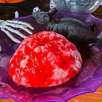 Zombie Gelatin Brain Plastic Mold
