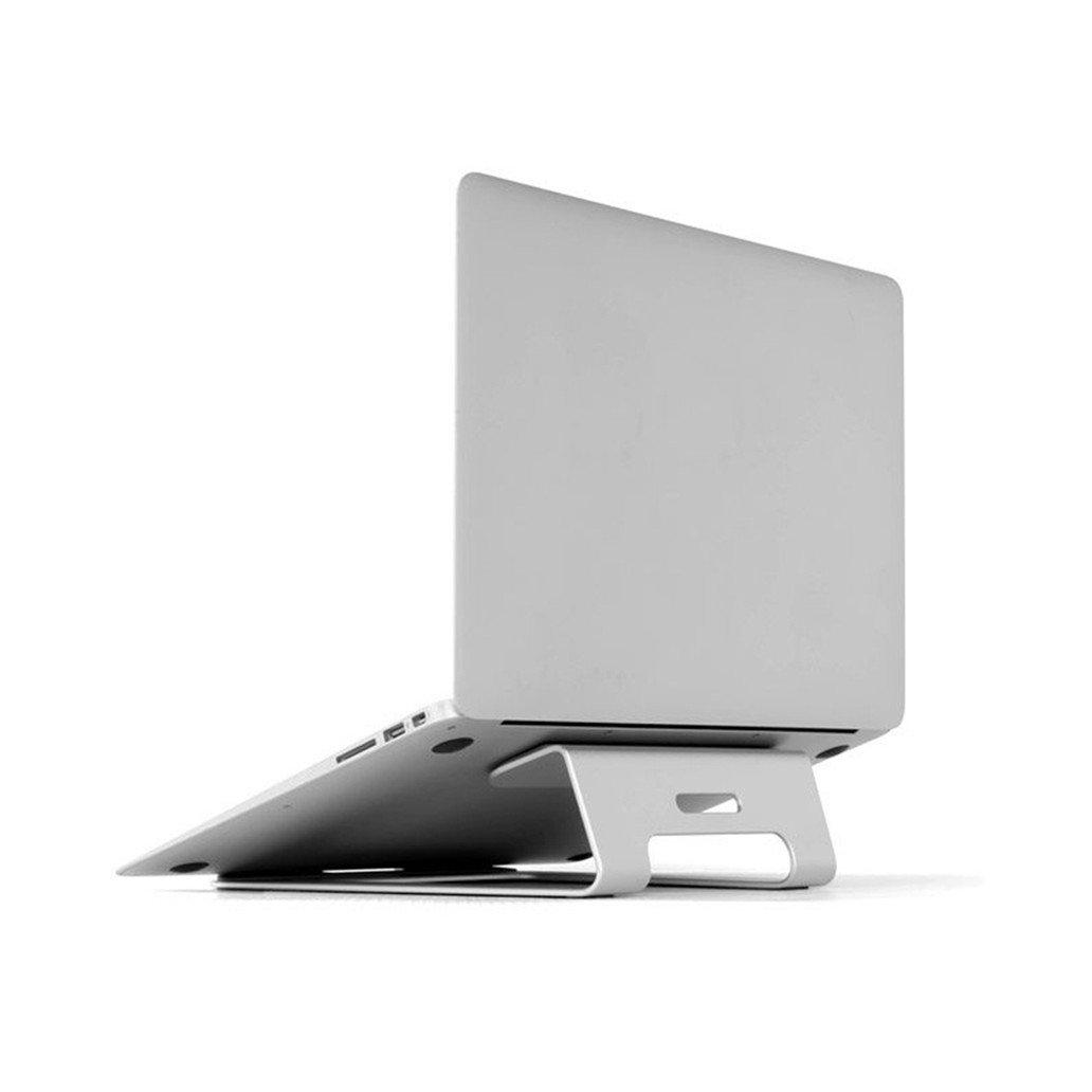 アルミPCスタンドタブレットホルダー冷却デスクパッドノートブックメタルブラケットfor Laptap for MacBook Pro Air 11 to 15インチ B07FVW98VV
