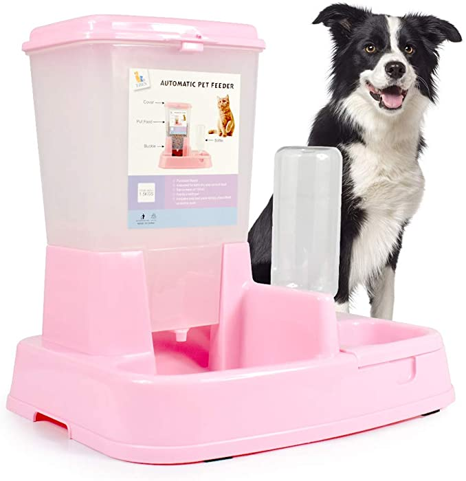 The Best Food  Water Containers For Dogs
