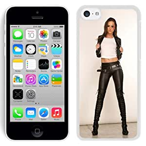 Unique Designed Cover Case For iPhone 5C With Tori Black Girl Mobile Wallpaper(5) Phone Case