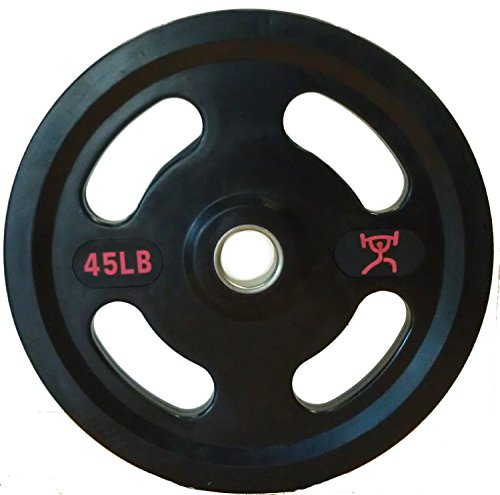CFF-Grip-Olympic-Rubber-Coated-Weight-Plates-Pair