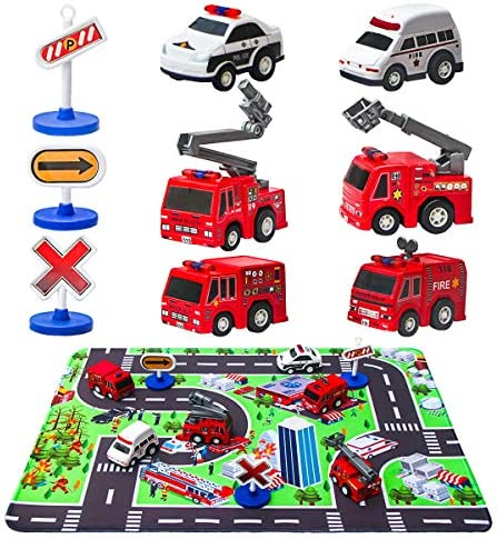 Truck Engines Rescue Playmat Vehicle product image
