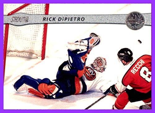 - 2001-02 Stadium Club #19 Rick DiPietro NEW YORK ISLANDERS