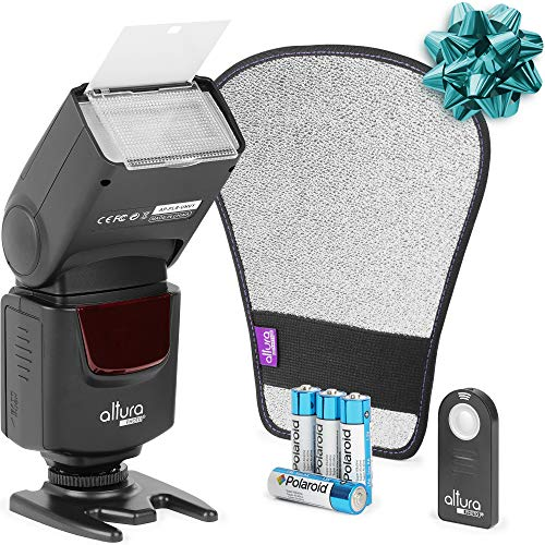 Altura Photo AP-UNV1 Bundle DSLR Camera Flash Speedlite for Canon Nikon Sony from Altura Photo