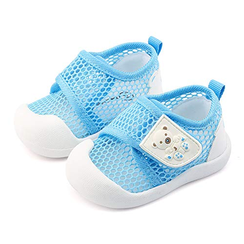 QGAKAGO Toddler Baby Boys and Girls Breathable Mesh Outdoor Shoes Summer Sandals