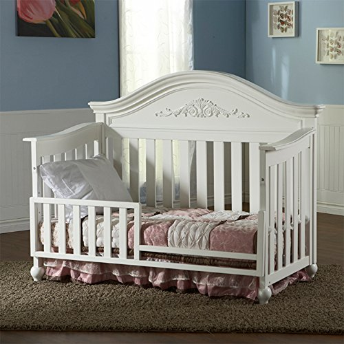 Pali Gardena Collection Toddler Rail in White by Pali