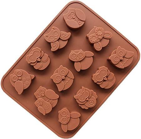Material: Silicona de Calidad Alimenticia (estándar FDA); Flexible y reutilizable; para la fabricaci