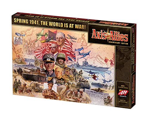 Avalon Hill Axis & Allies Anniversary Edition Strategy Board Game (War Allies 1 World Axis And)