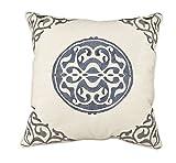 Universal Furniture P20-7008 Uniblue Medallion Accent Pillow
